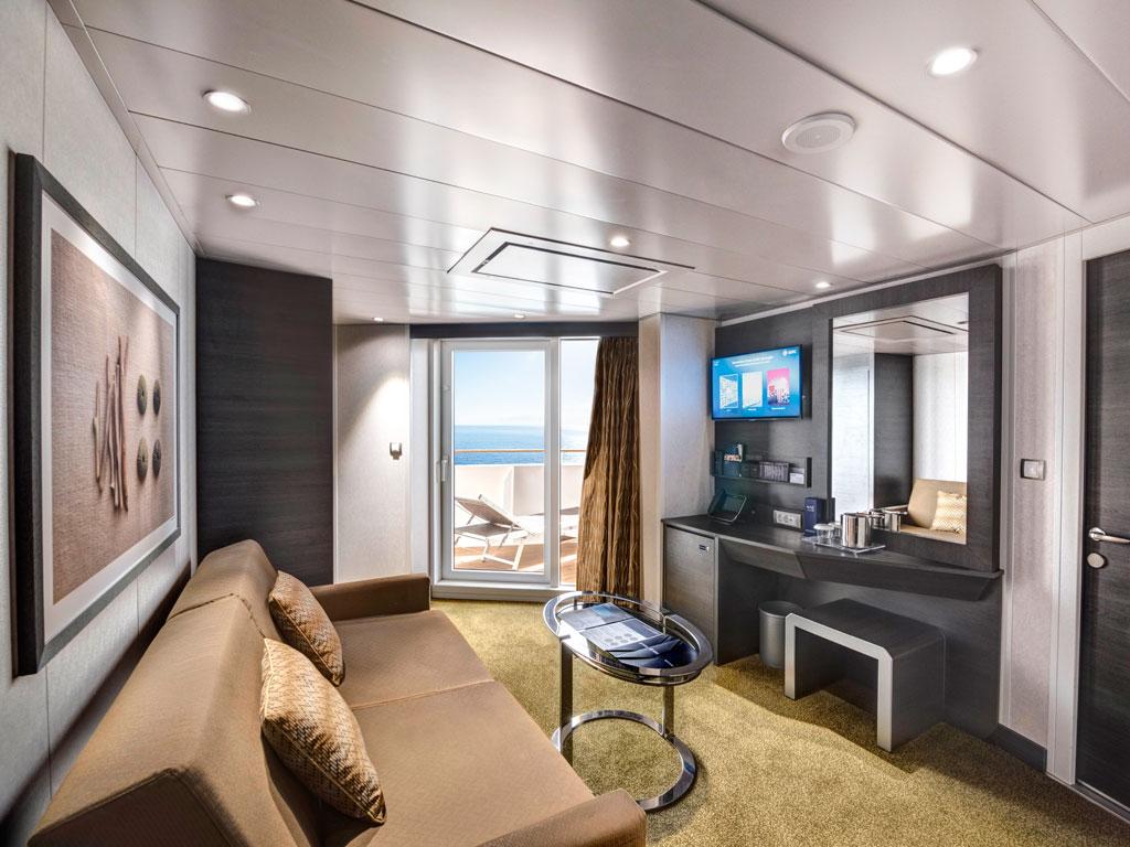 MSC Grandiosa: Schiffsinformationen, Impressionen & Kabinen